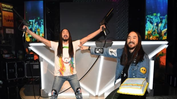 Steve Aoki and Wax Figure