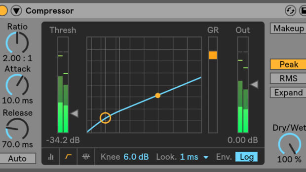 Ableton Compressor