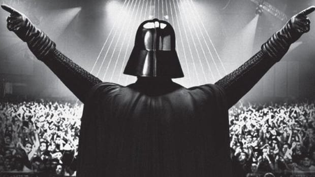 Darth Vader on Stage