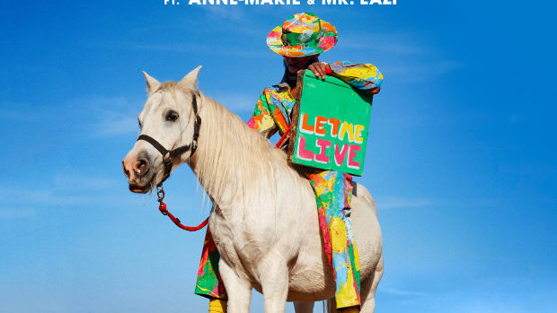 Rudimental x Lazer - Let Me Live (Single Art)