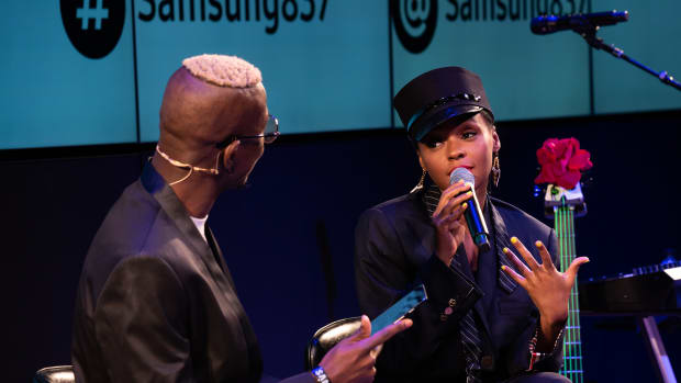 Janelle Monáe at Samsung 837