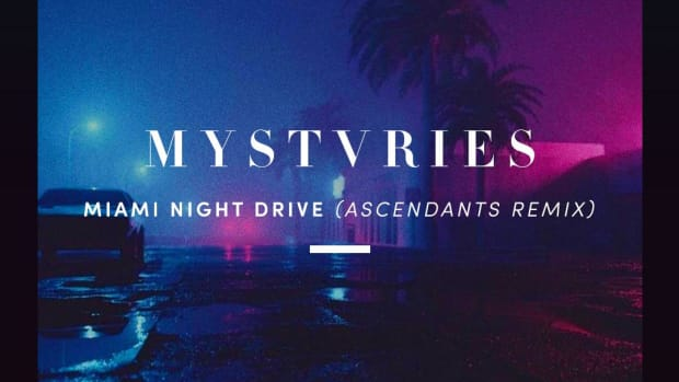 "Album art for the Ascendants remix of ""Miami Night Drive"" by Mystvries."