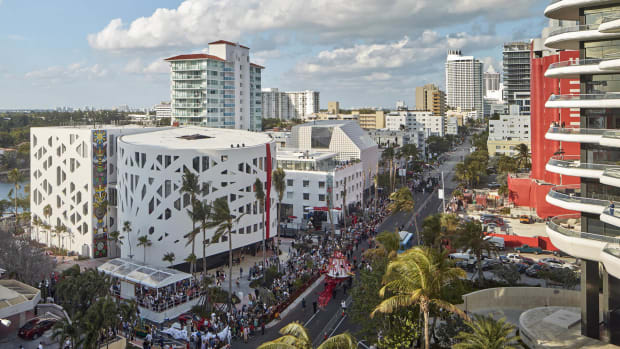 Winter Music Conference 2019, Faena District, Miami.
