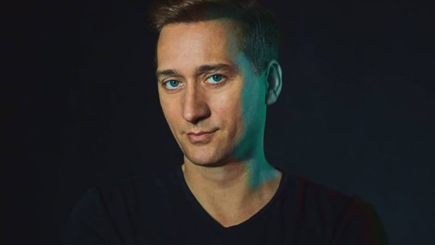 A press shot of German trance DJ/producer Paul van Dyk.
