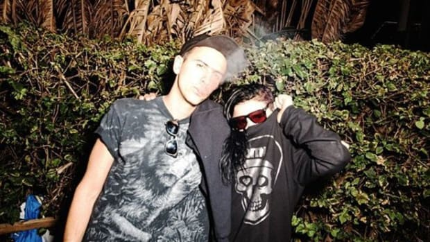 Skrillex  and Boys Noize Dog Blood