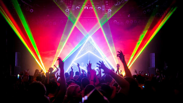 Midnight Conspiracy Laser Lightshow