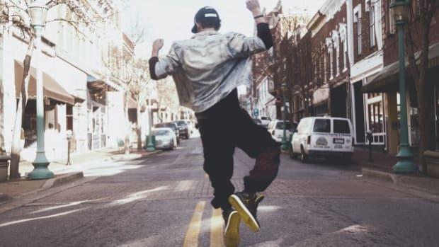 guy jumping