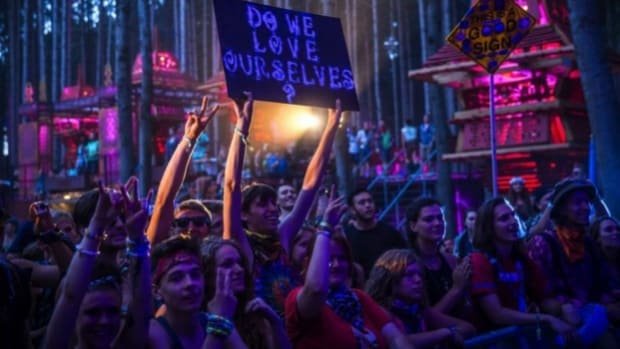 Good question, at Electric Forest