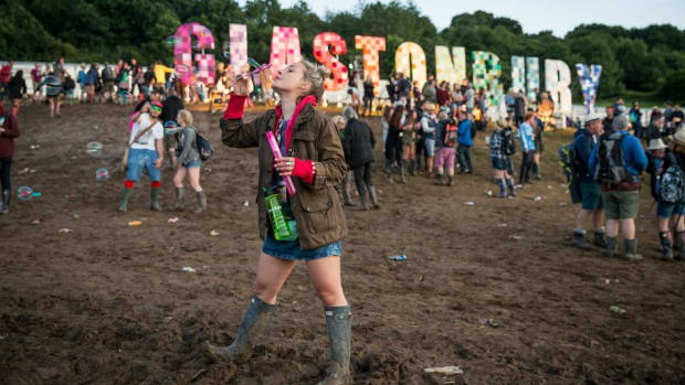 Glastonbury. Credit - Getty