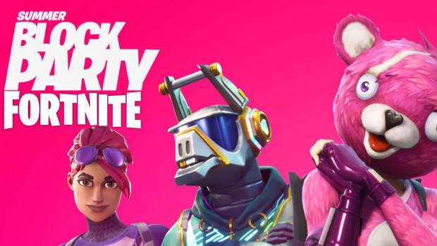 Fortnite Summer Block Party