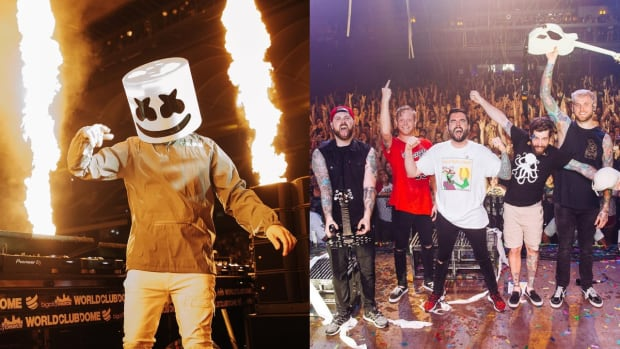 Marshmello and A Day to Remember