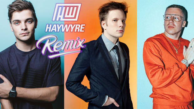 Martin Garrix Macklemore & Patrick Stump Banner Artwork