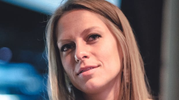 nora en pure looking pensive