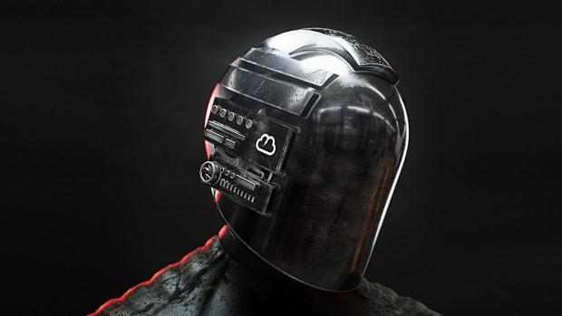 Kloud Black Mask Press Photo