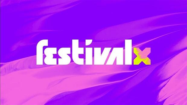 festival x purple banner