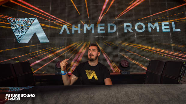 Ahmed Romel - FSOE (Future Sound Of Egypt) - Performance Photo