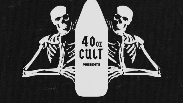 40oz Cult Hell House Casey Jones Art Work