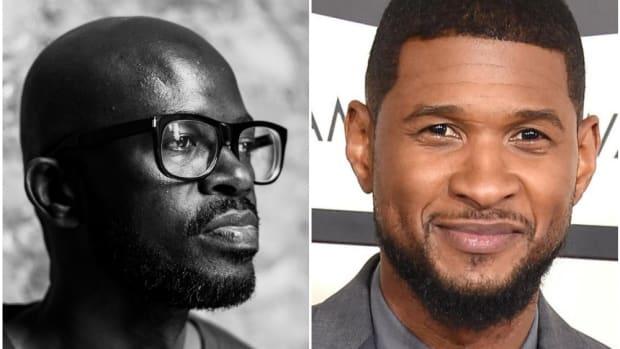Usher and Black Coffee