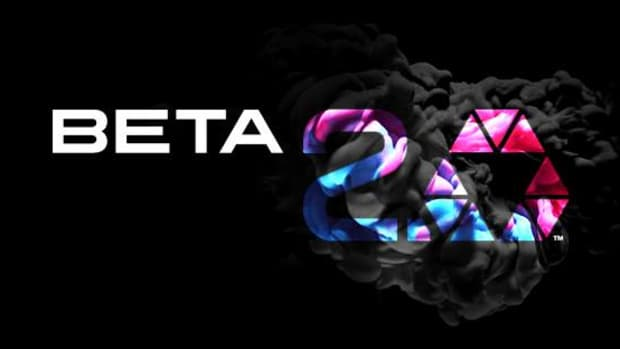 Beta 2.0 logo with added texturing.