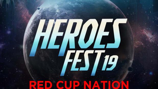 Heroes Fest artwork.