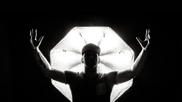 Bassanova Press Photo - Black & White Silhoutte