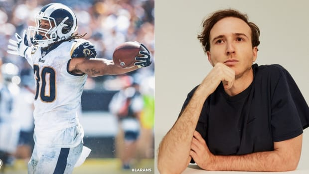 Rl Grime and the Los Angeles Rams