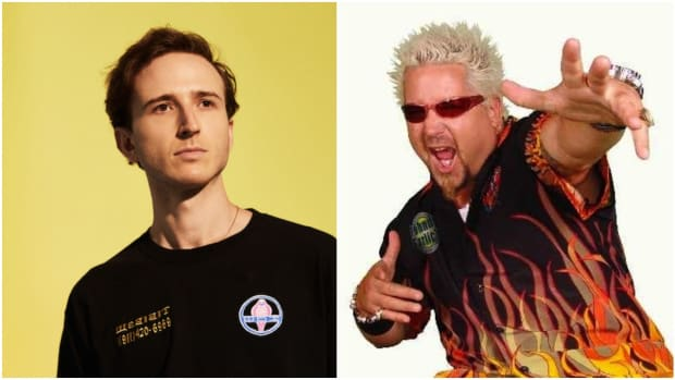 Guy Fieri and RL Grime