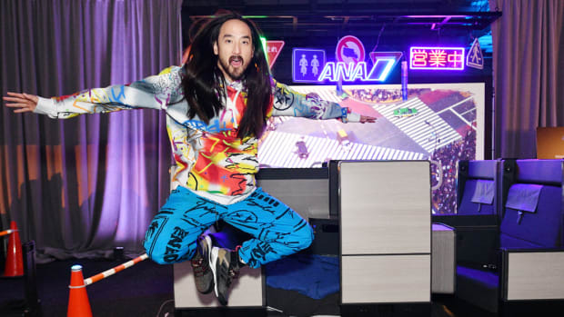 Steve Aoki Neon Future IV All Nippon Airways NYC