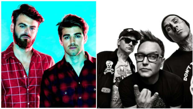 The Chainsmokers and Blink 182
