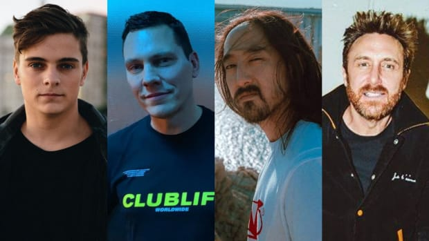 Martin Garrix, Tiesto, Steve Aoki, and David Guetta