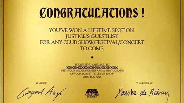 justice golden ticket