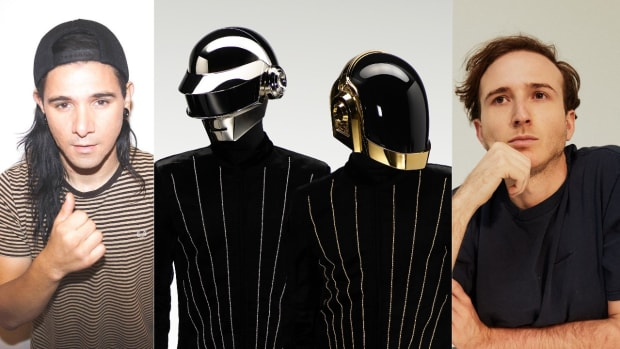 Skrillex, Daft Punk, and RL Grime