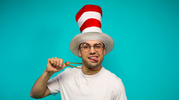 Sean Tooley / STICKYFANGAZ Press Photo (Cat In The Hat)