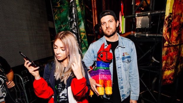 American DJ/producer Dillon Francis and Australian DJ/producer Alison Wonderland.