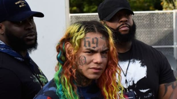 Photo of Brooklyn rapper Daniel Hernandez A.K.A. Tekashi 6ix9ine.