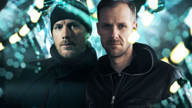 Adam Beyer Photoshopped into a press photo of Eric Prydz A.K.A. Cirez D.