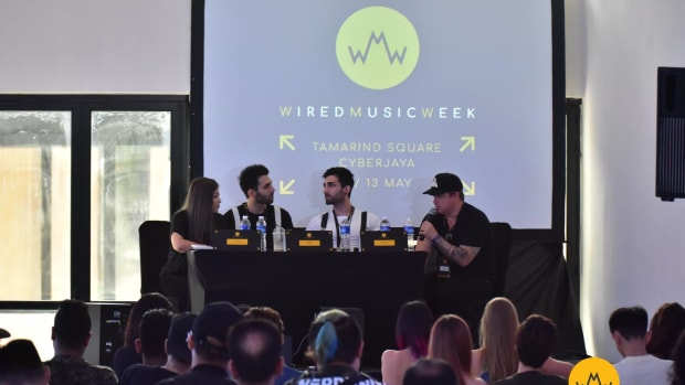 A panel discussion at the 2018 edition of Wired Music Week.