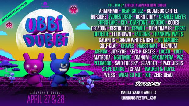 Ubbi Dubbi Festival - Artist Lineup Phase 2 (Full Lineup) via EDM.com
