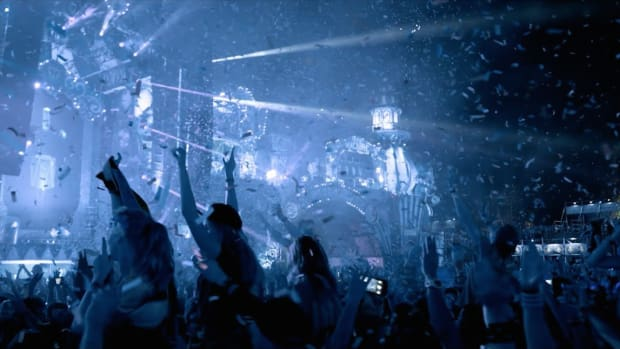 A still from the trailer for the inaugural 2019 edition of Tomorrowland Winter.