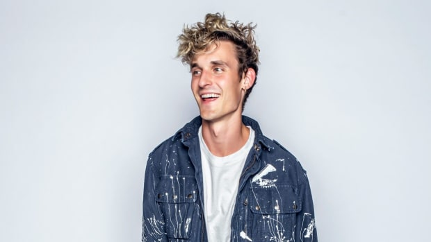A press photo of Colorado DJ/producer GRiZ (real name Grant Richard Kwiecinski).