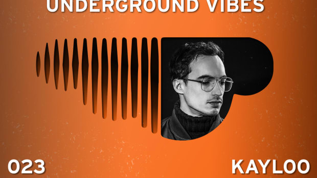The promo image for this the 23rd installment of Underground Vibes of the Week #23 featuring Kayloo.