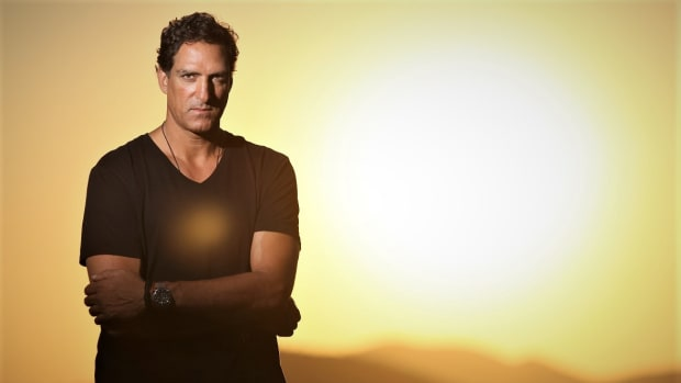 Professional basketball player-turned electronic music DJ/producer and Stride label boss Rony Seikaly.