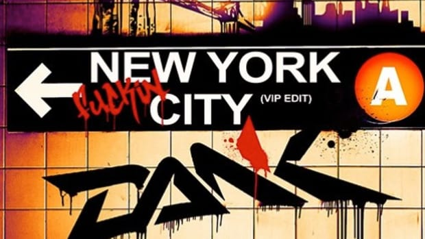 "The cover art for ""New York Fuckin City"" by DANK."