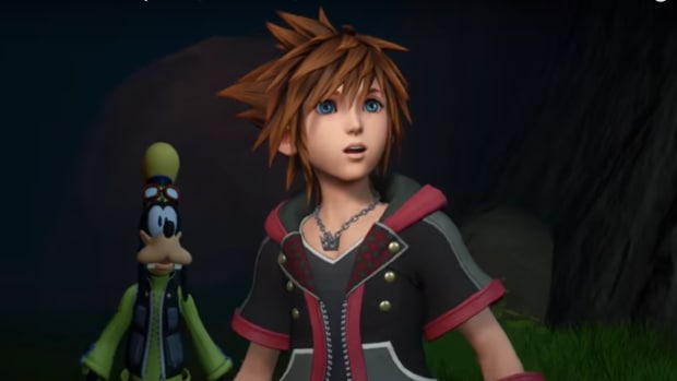 "A screen capture from the music video of Skrillex and Hikaru Utada's Kingdom Hearts III theme, ""Face My Fears."""