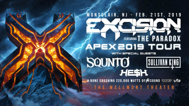 Excision + SQUNTO + Sullivan King + HE$H at The Wellmont Theater in Montclair, NJ -- Feb 21, 2019 (EDM.com Feature)