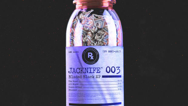 JACKNIFE - Bladed Black EP (The Prescription Records) -- Dr. Fresch // EDM.com Feature