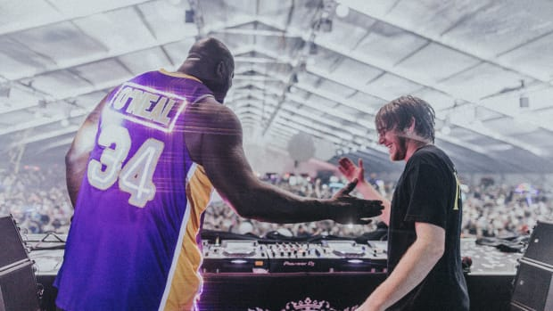 NGHTMRE & Shaquille O'Neal at Decadence Arizona 2018