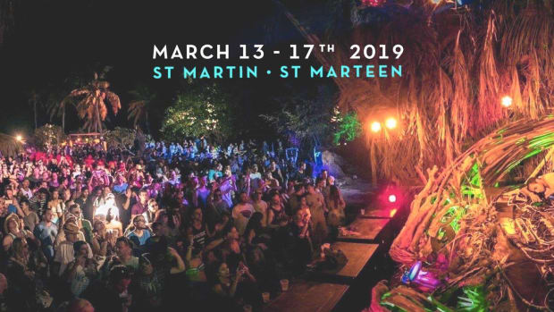 SXM Festival Banner
