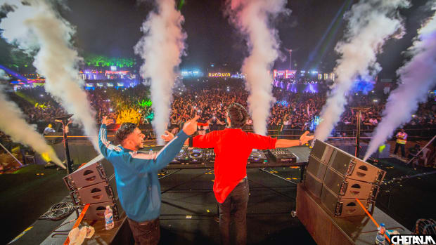 Lost Stories and KSHMR at Sunburn Festival 2019