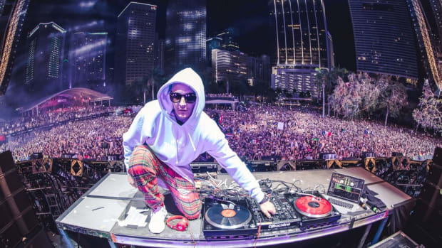 A photo of DJ Snake (real name William Sami Étienne Grigahcine) courtesy of Rukes.